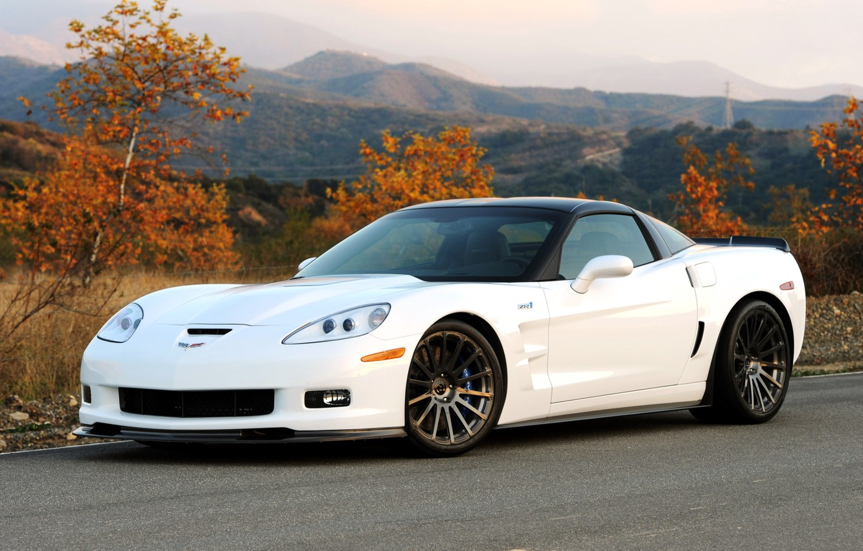 Photo wallpaper Corvette, Chevrolet, ZR1, Chevrolet, 2011, Hennessey, Corvette