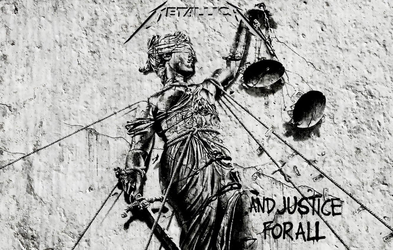 Photo wallpaper music, logo, rock, Libra, metallica, and justice for all