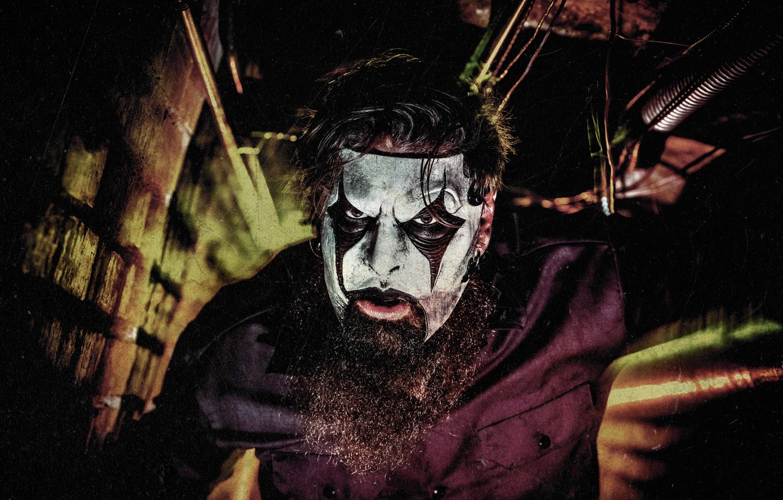 Photo wallpaper mask, guitarist, male, beard, musician, Slipknot, Mask, Slipnot, James Root, James Ruth