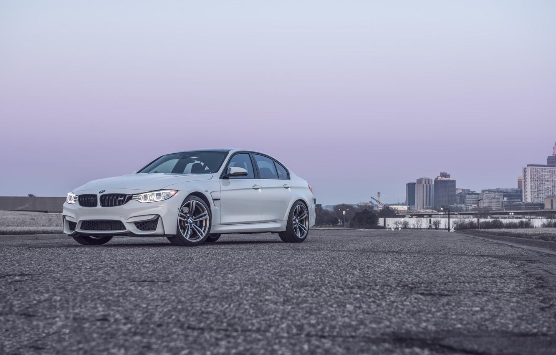 Photo wallpaper BMW, White, F80