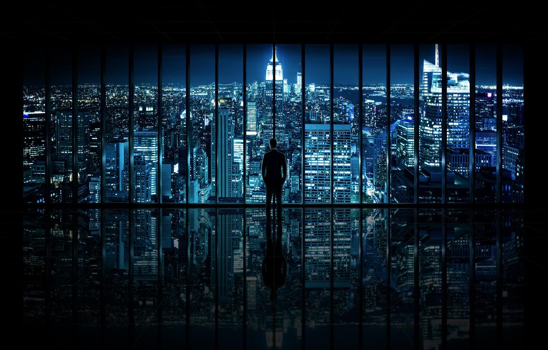 Wallpaper New York City Window The City The Dark Knight Window