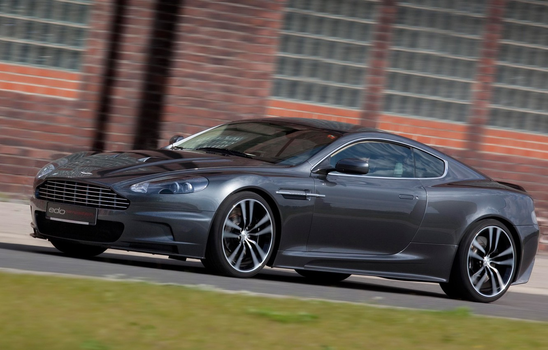 Photo wallpaper car, Aston Martin, DBS, black, tuning, Edo Competition
