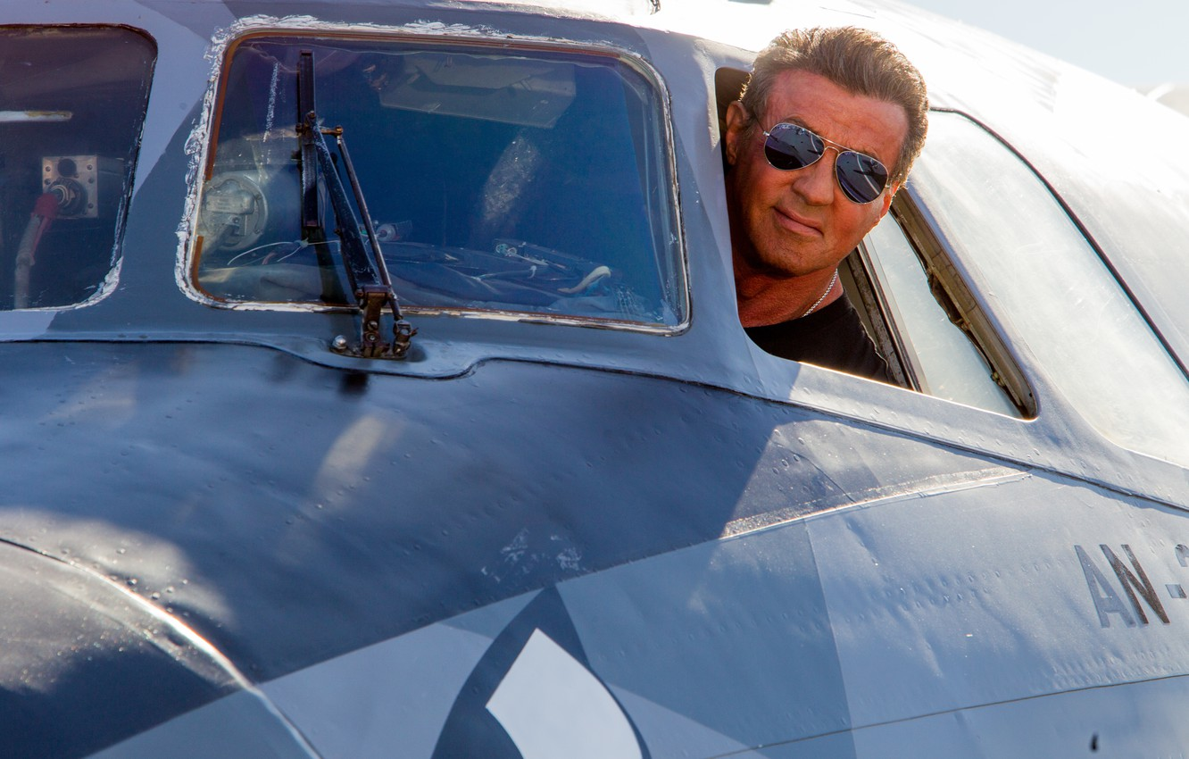 Photo wallpaper man, actor, Sylvester Stallone, The Expendables 3, The expendables 3