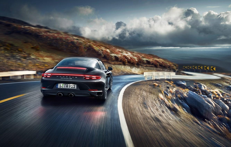 Photo wallpaper 911, Porsche, turn, Porsche, Targa, Targa