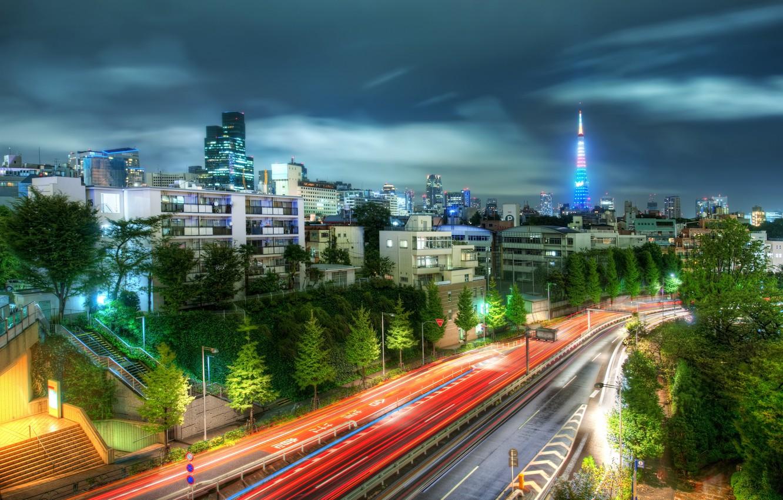 Wallpaper Road Hdr Japan Tokyo Tokyo Japan Trey Ratcliff Images For Desktop Section Gorod Download