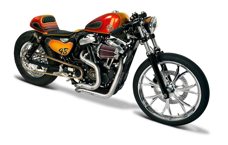 Photo wallpaper chopper, bike, motorcycle, motorbike