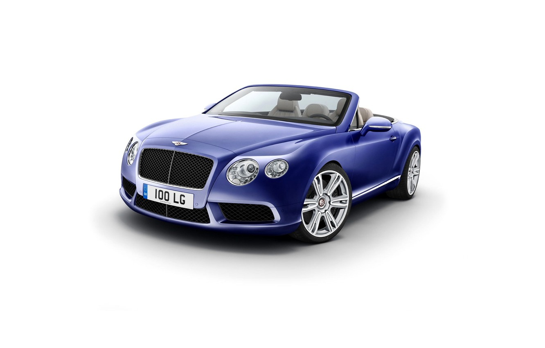 Photo wallpaper lights, Bentley, grille, convertible