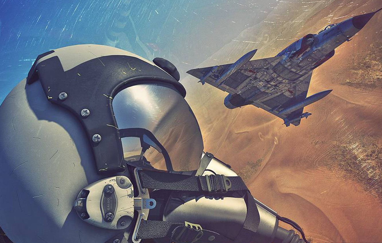 Wallpaper The Sky Figure Fighter Cabin Pilot The Plane