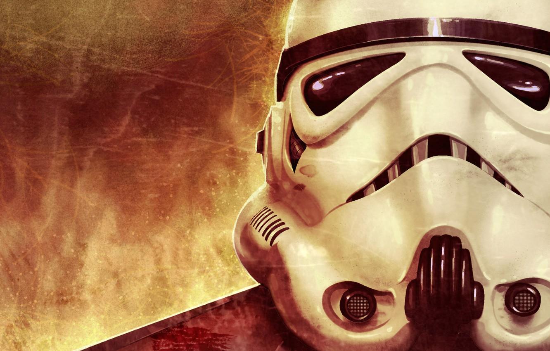 Photo wallpaper Star Wars, helmet, attack, lenses