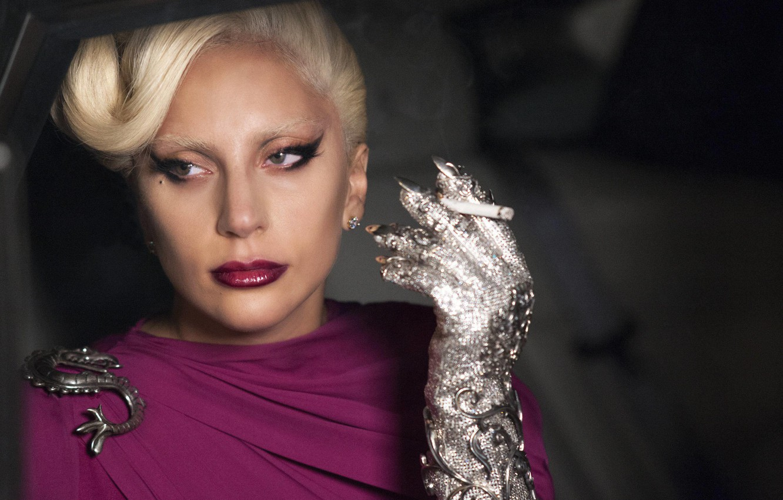 Photo wallpaper girl, actress, singer, fashion, celebrity, smoke, woman, cigarette, singer, dragon, Lady Gaga, Hotel, Lady Gaga, …