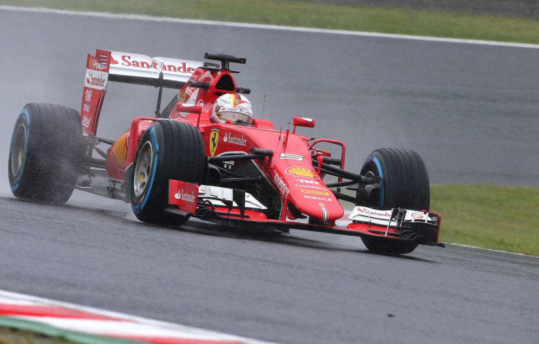 Wallpaper Ferrari Formula 1 Vettel The Front Damp Images