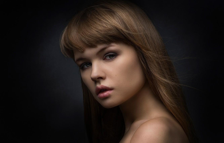 Photo wallpaper background, portrait, Russia, Studio, Nastya, George Chernyadev, Anastasia Shcheglova