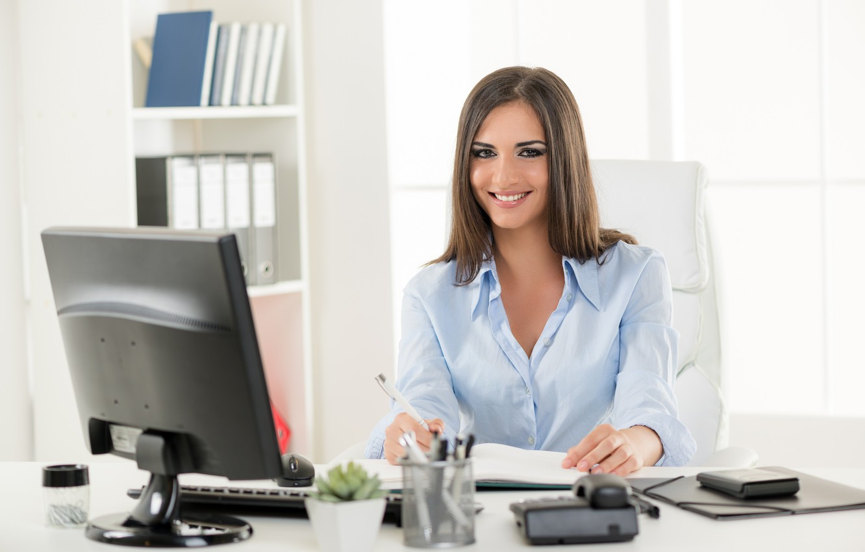 Работа для девушки секретарем работа для девушек в москве официант