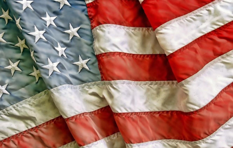 Wallpaper Usa Flag Patriotism Worn Fabric Images For Desktop Section Tekstury Download