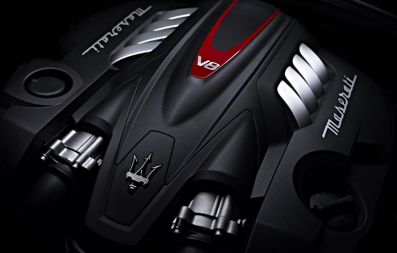Photo wallpaper engine, emblem, Maserati, Maserati Quattroporte