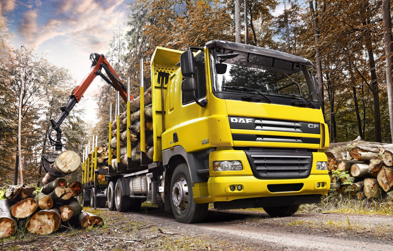 Photo wallpaper Truck, Wallpaper, Wallpapers, Truck, DAF, The truck, DAF, CF85.460, ЦФ85.460