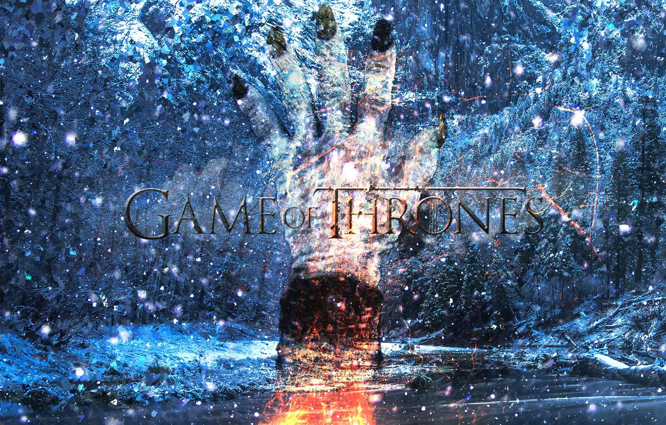 Photo wallpaper winter, A Song of Ice and Fire, Game of Thrones, THRONES, GAME