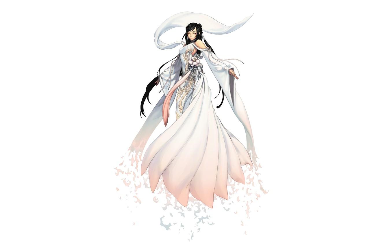 Wallpaper Girl Background Figure Dress Fantasy Art