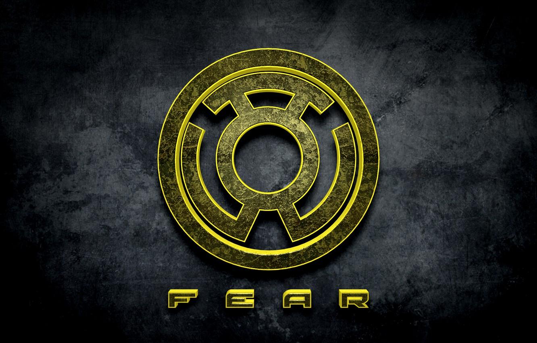Photo wallpaper comics, fear, Yellow Lantern, Sinestro Corps