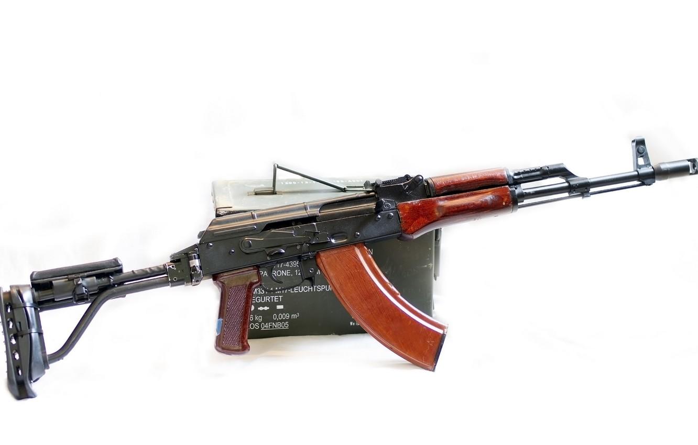 Photo wallpaper weapons, machine, FEG SA85M