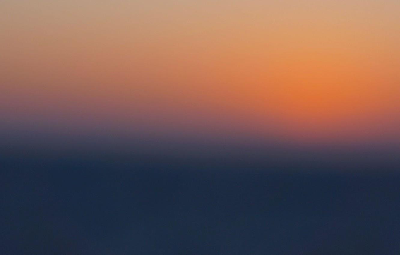 Photo wallpaper twilight, sea, ocean, sunset, dusk
