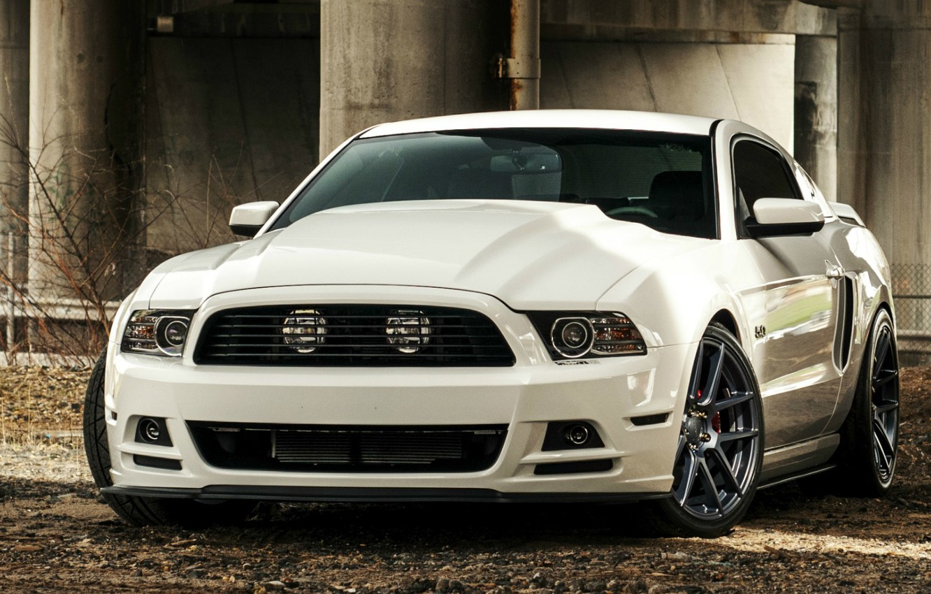 Photo wallpaper Mustang, Ford, 5.0