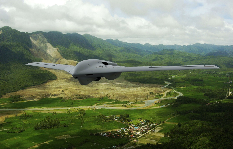 Photo wallpaper flight, drone, Lockheed Martin, Fury Block 10