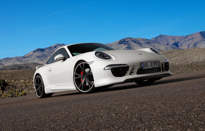 Photo wallpaper coupe, 911, Porsche, 2012, Porsche, Carrera, TechArt, Carrera S
