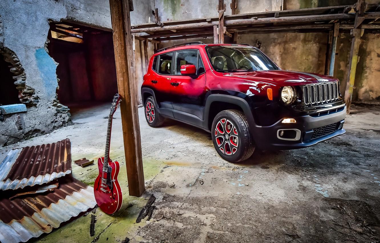 Photo wallpaper jeep, Jeep, 2015, Renegade, renegade, Garage Italia Customs, Montreux Jazz Festival Showcar