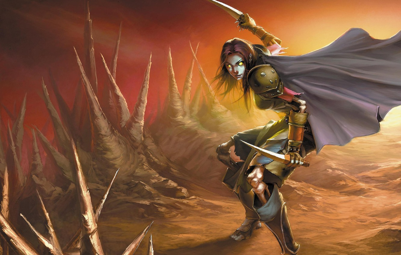 Wallpaper Undead Wow Undead Daggers The Robber World Of