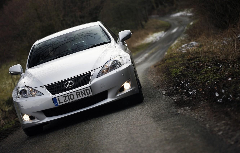 Photo wallpaper road, machine, road, lexus, Lexus, is 250 f sport