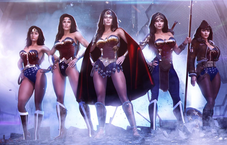 Photo wallpaper costume, Wonder Woman, Amazon, DC Comics, Princess Diana of Themyscira
