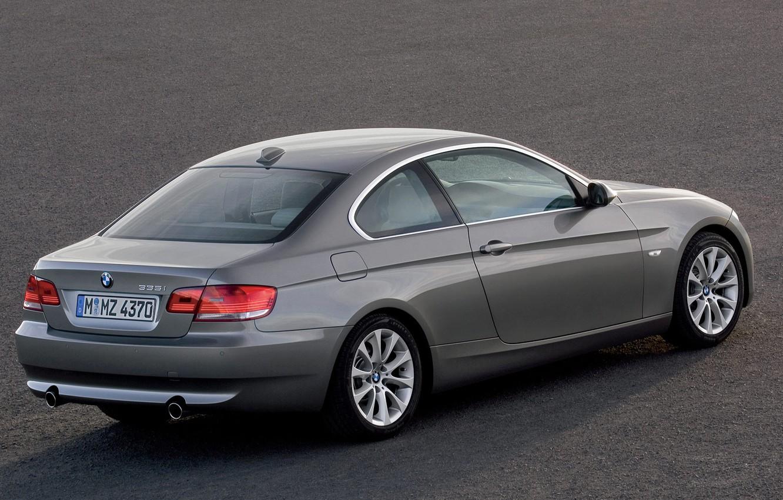 Photo wallpaper coupe, BMW, 335i
