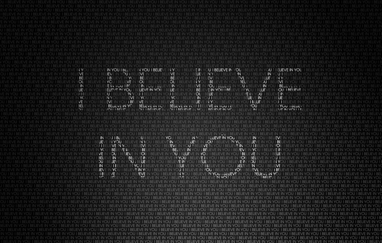 Wallpaper Letters Background Words I Believe In You I Believe