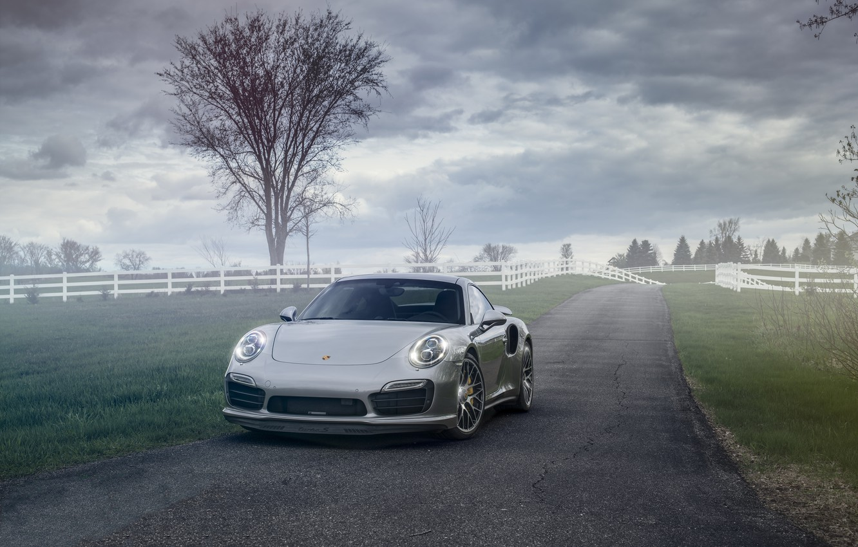 Photo wallpaper 911, Porsche, Turbo, 991