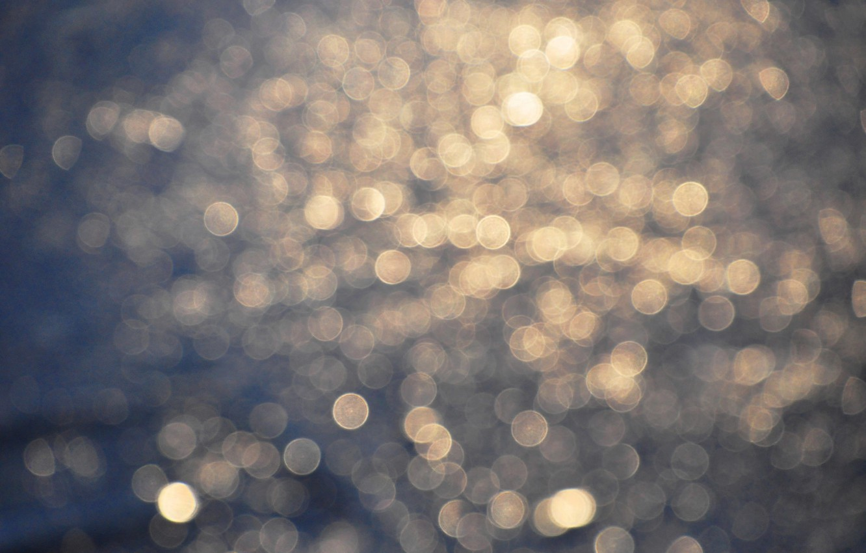 Photo wallpaper light, circles, glare, background