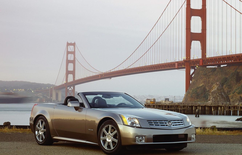 Photo wallpaper water, bridge, Cadillac