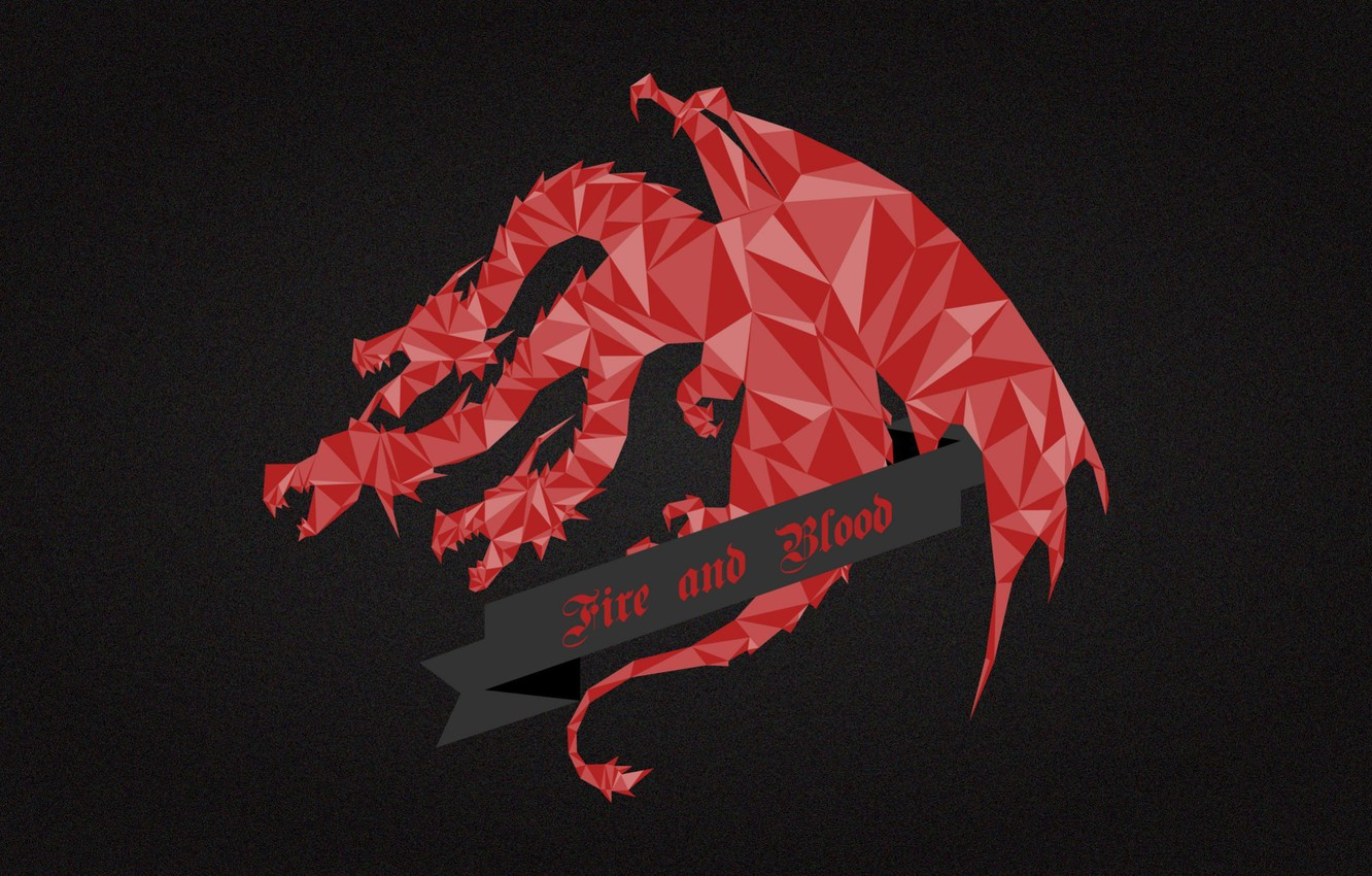 Wallpaper Red Dragon A Song Of Ice And Fire Game Of