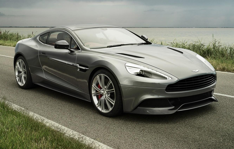 Photo wallpaper road, the sky, Aston Martin, supercar, the front, Aston Martin, AM 310, Vanquish, Vanquish
