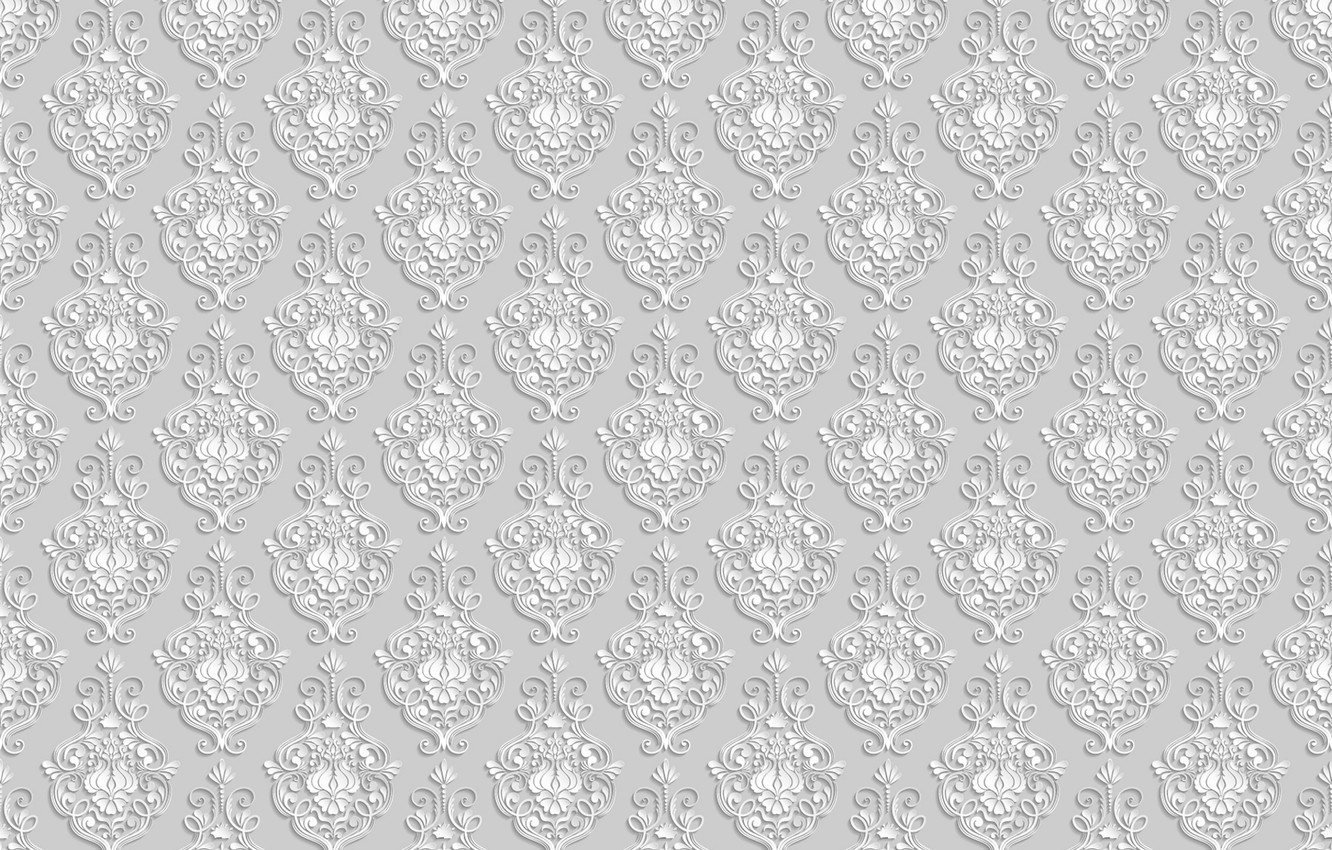 Photo wallpaper pattern, the volume