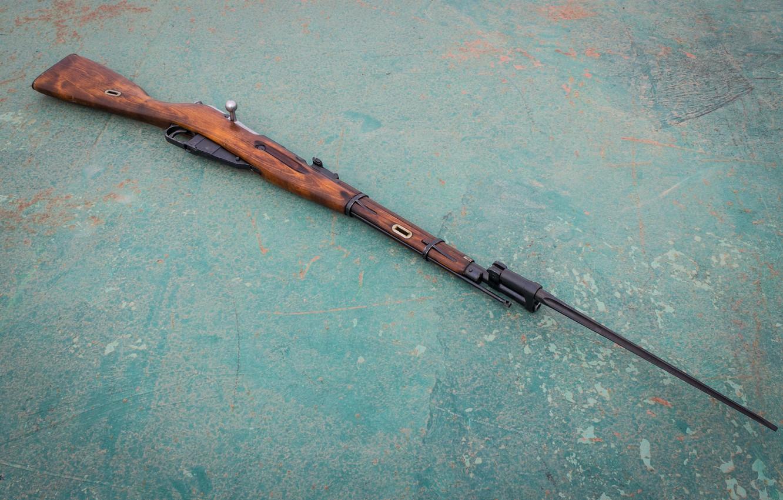 Photo wallpaper background, rifle, 1944, Mosin, store, M44
