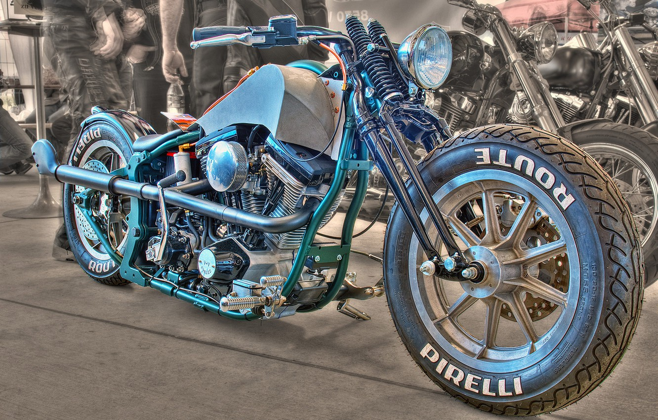 Photo wallpaper design, style, background, HDR, motorcycle, form, bike, dragster