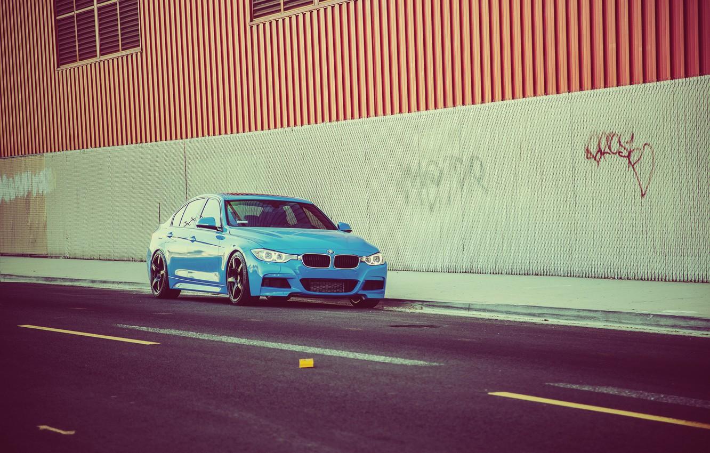 Photo wallpaper BMW, tuning, 328i, F30, MRR