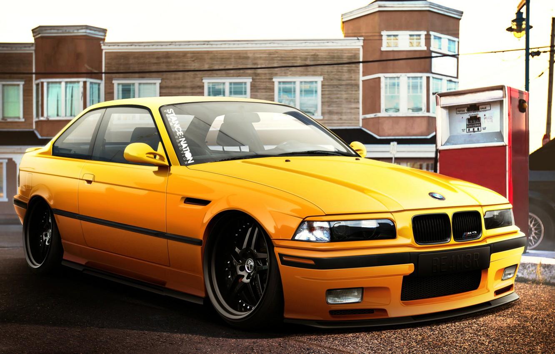 Photo wallpaper car, auto, BMW, tuning, bmw m3, E36, auto wallpaper
