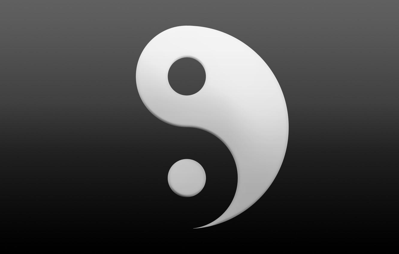 Photo wallpaper symbol, Yin, Yang
