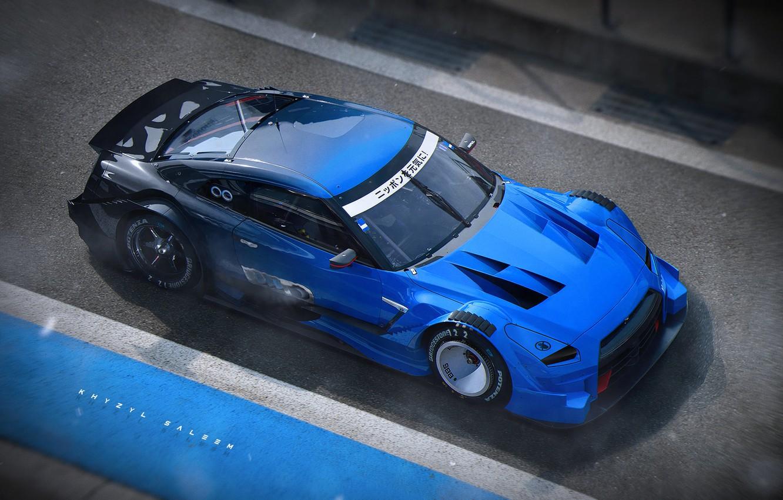 Photo wallpaper Nissan, Tuning, Nissan GTR, Concept Cars