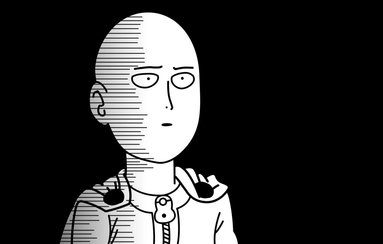 Photo wallpaper look, manga, comic, Saitama, Saitama, One-Punch Man, ONE, People in One hit, Bald Cape, Murata …