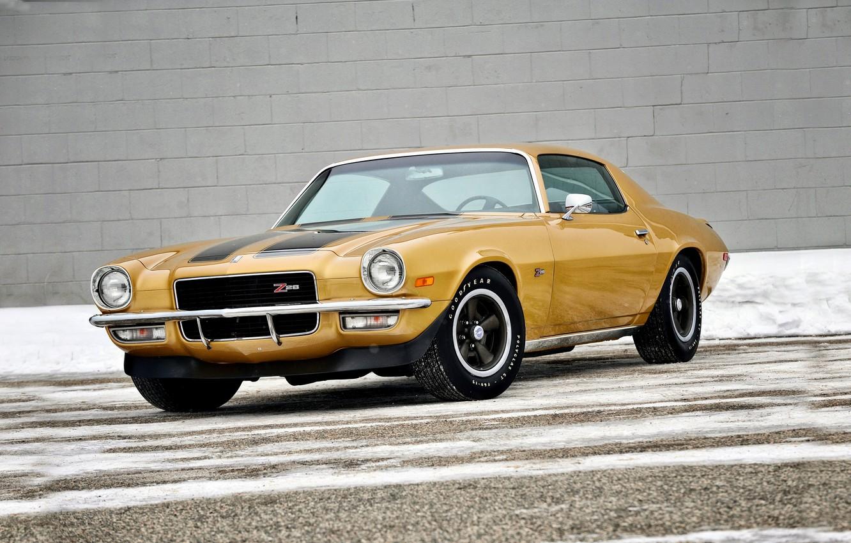 Photo wallpaper Chevrolet, Camaro, Chevrolet, 1970, Camaro, Z28