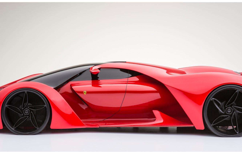 Photo wallpaper concept, Ferrari, F80