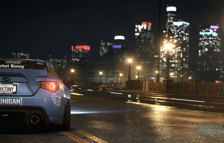 Photo wallpaper Subaru, nfs, BRZ, Rocket, NSF, Bunny, Need for Speed 2015, this autumn, new era